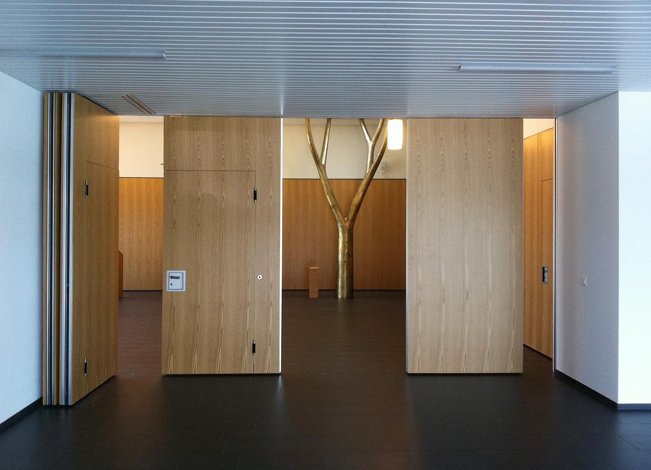 Gunzwil Kirchgemeindehaus Foyerwand links